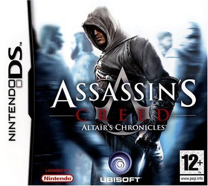 Assassin's Creed (Multi) 2007 Game-AC1-DS