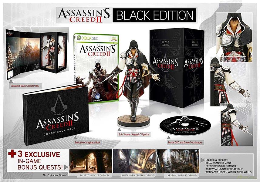 Assassin's Creed (Multi) 2007 Game-AC2-Black