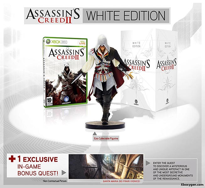 Assassin's Creed (Multi) 2007 Game-AC2-White