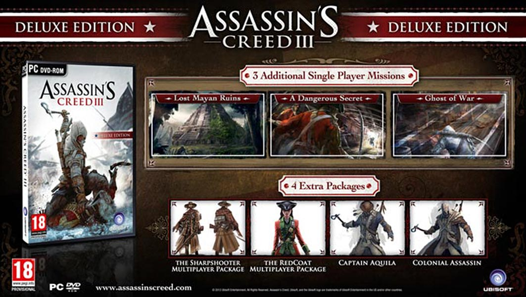Assassin's Creed (Multi) 2007 Game-AC3-DXUK