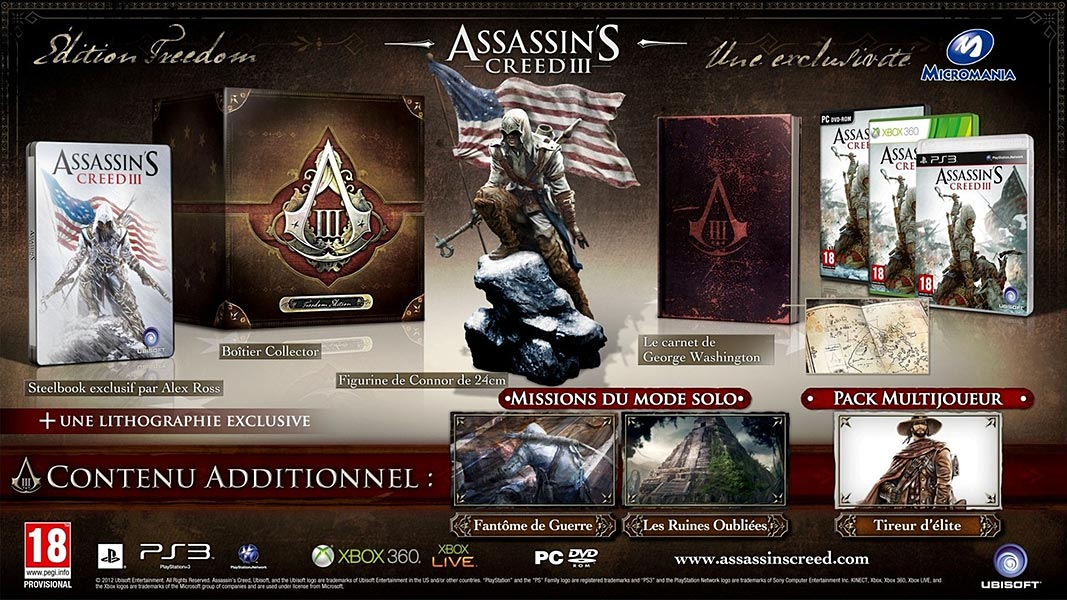 Assassin's Creed (Multi) 2007 Game-AC3-Freedom
