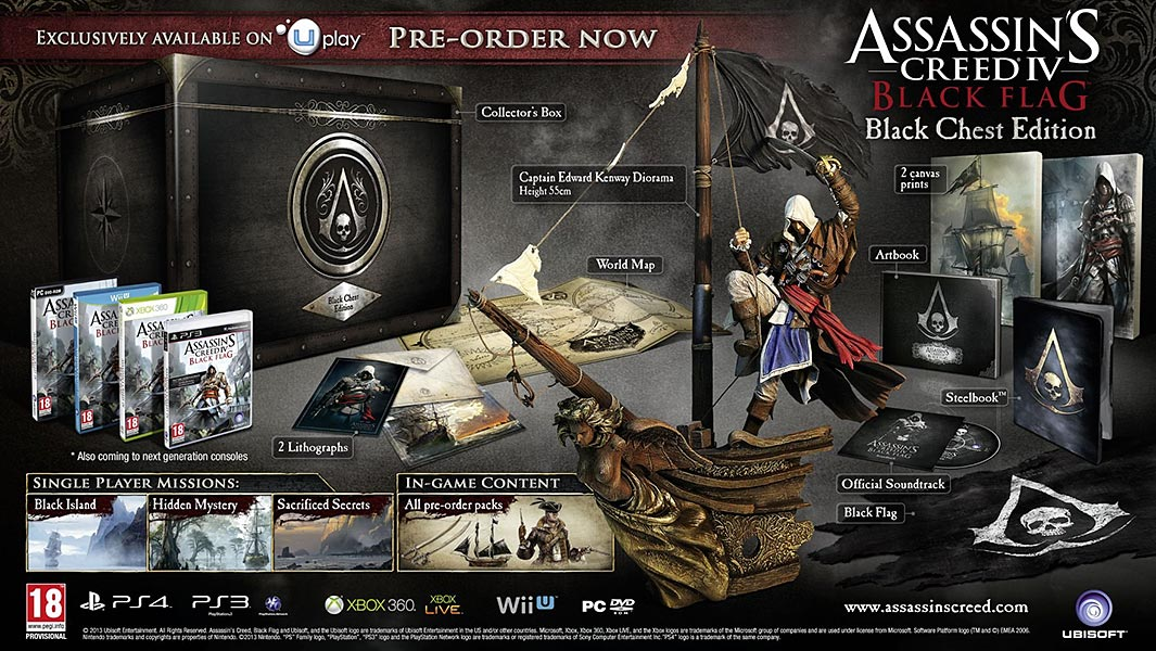 Assassin's Creed (Multi) 2007 Game-AC4-BlackChest