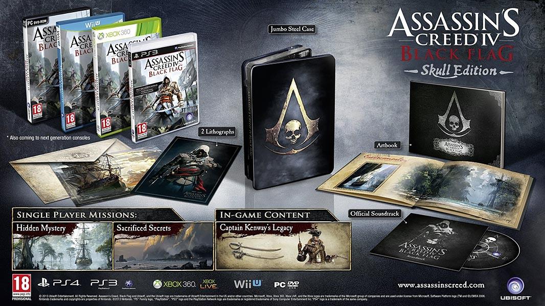 Assassin's Creed (Multi) 2007 Game-AC4-Skull