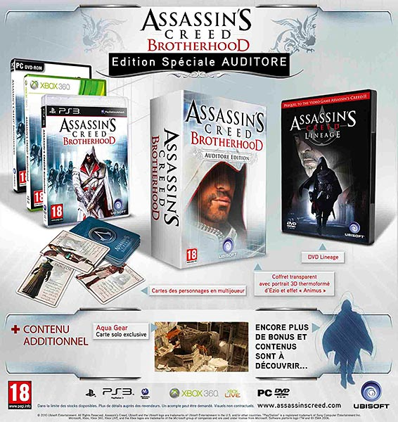 Assassin's Creed (Multi) 2007 Game-ACB-Auditore