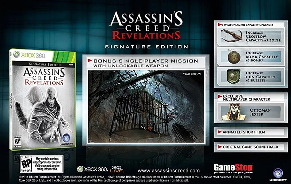 Assassin's Creed (Multi) 2007 Game-ACR-Signature