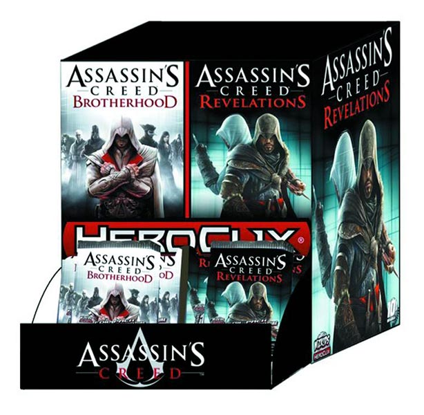 Assassin's Creed (Multi) 2007 Heroclix-01