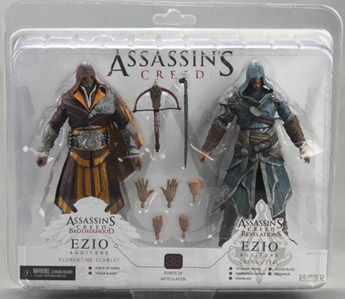 Assassin's Creed (Multi) 2007 Neca-ACB&R-Ezio2Pack-01