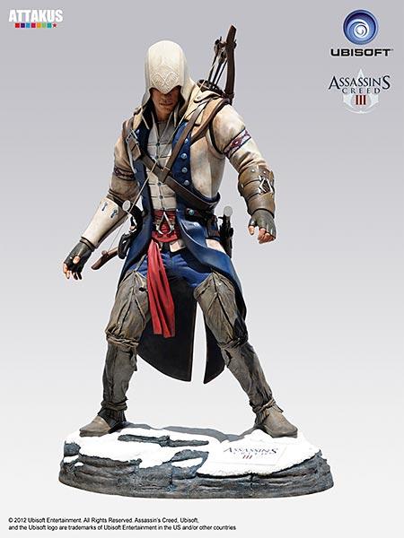 Assassin's Creed (Multi) 2007 Statue-Attakus-ConnorReal-02