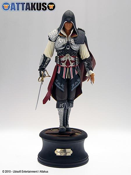 Assassin's Creed (Multi) 2007 Statue-Attakus-EzioMaster-01