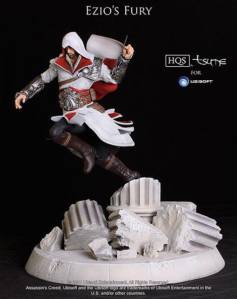 Assassin's Creed (Multi) 2007 Statue-Tsume-EziosFury-01