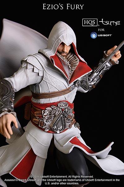 Assassin's Creed (Multi) 2007 Statue-Tsume-EziosFury-02