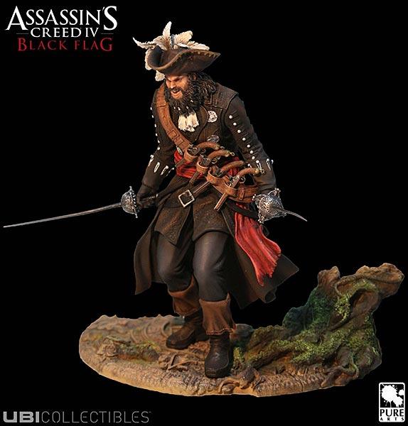 Assassin's Creed (Multi) 2007 Statue-UbiArts-AC4-Blackbeard