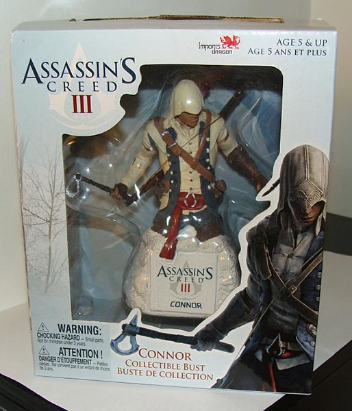 Assassin's Creed (Multi) 2007 Statue-UbiArts-BusteConnor-01