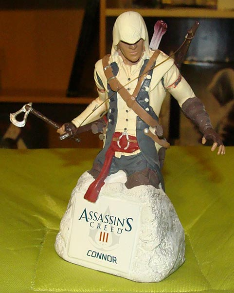 Assassin's Creed (Multi) 2007 Statue-UbiArts-BusteConnor-02